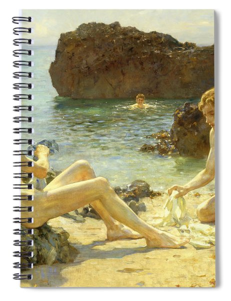 The Sun Bathers Spiral Notebook