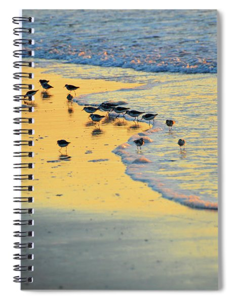 The Sun Is Shining And So Are You Spiral Notebook