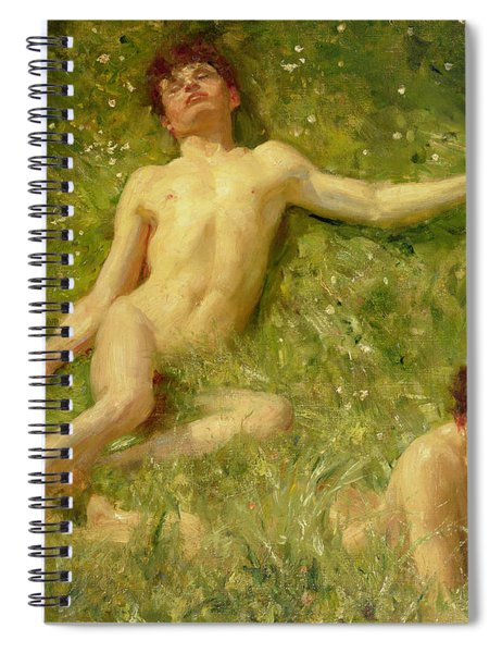 The Sunbathers Spiral Notebook