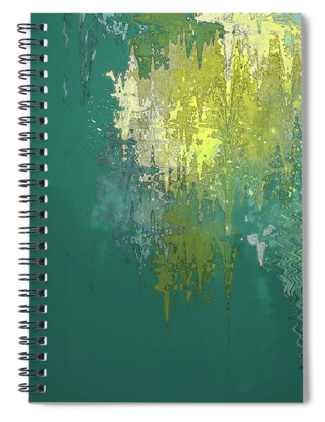 The Sunken Cathedral Spiral Notebook by Gina Harrison