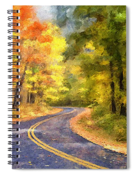 The Sunny Side Of The Street Spiral Notebook