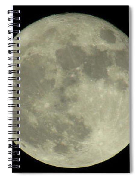 The Super Moon 3 Spiral Notebook