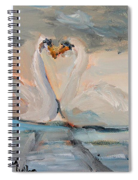 The Swans Will Soon Return Spiral Notebook