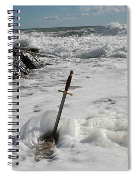 The Sword 2 Spiral Notebook