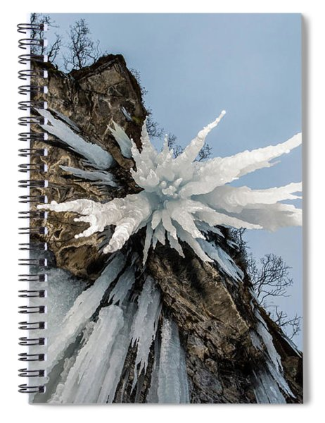 The Sword Of Damocles Spiral Notebook