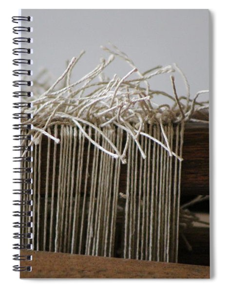 The Tales We Weave In Sepia Photograph Spiral Notebook
