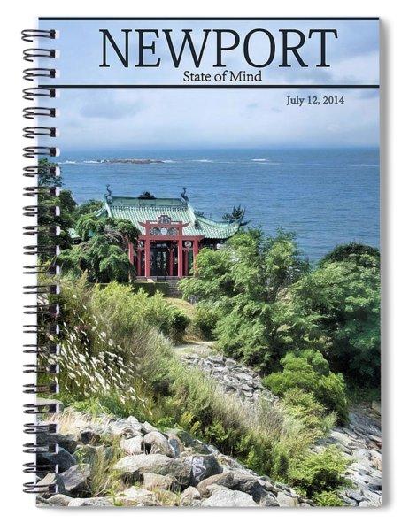 The Tea House Spiral Notebook