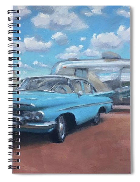 The Teepee Motel, Route 66 Spiral Notebook
