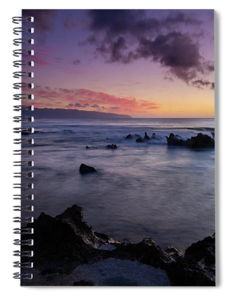 The Teeth Of Paradise Spiral Notebook