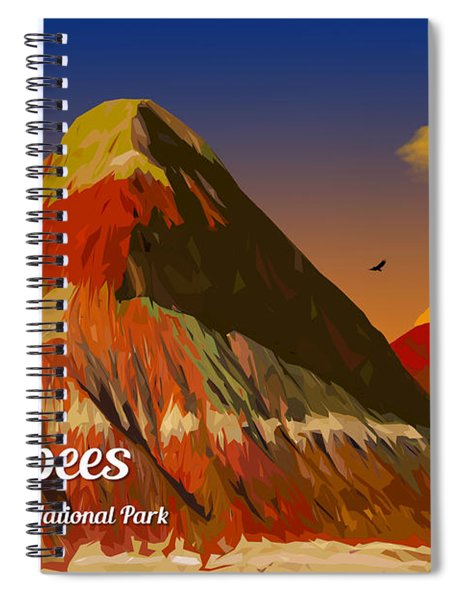 The Tepees Spiral Notebook