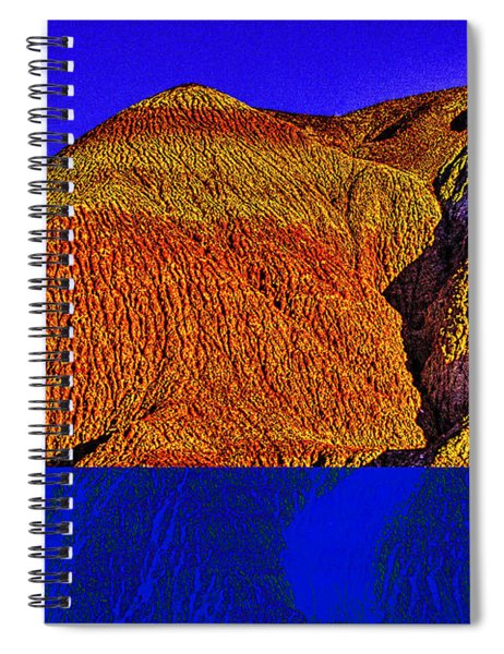 The Tepees Up Close Spiral Notebook