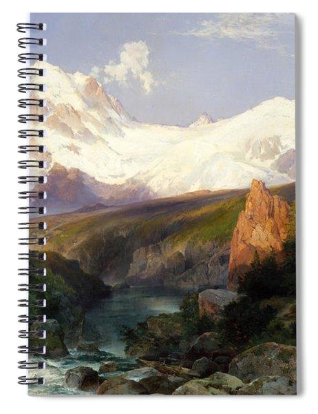 The Teton Range, 1897 Spiral Notebook