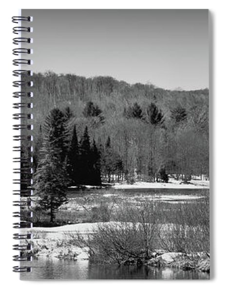 The Thawing Of The Moose River Spiral Notebook