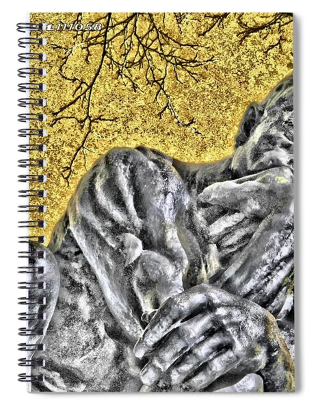 The Thinker - Study #1 Spiral Notebook