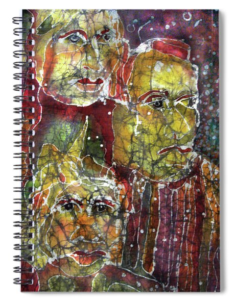 The Three Muses Spiral Notebook