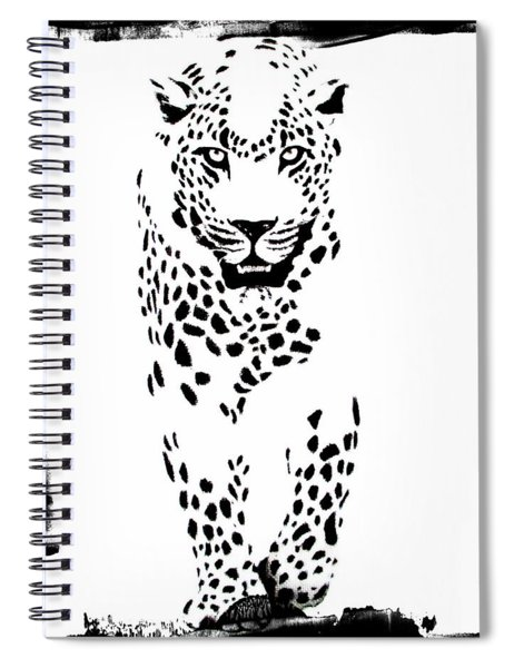 The Three Musketeers - Leopard Spiral Notebook