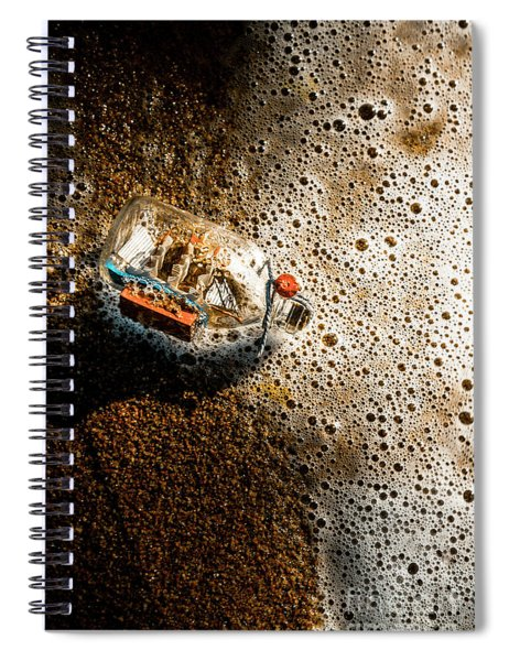 The Tide And Its Takers Spiral Notebook