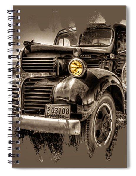Tillamook Cheese Express Spiral Notebook