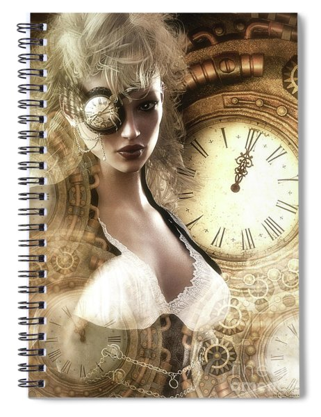 The Time Has Come Spiral Notebook