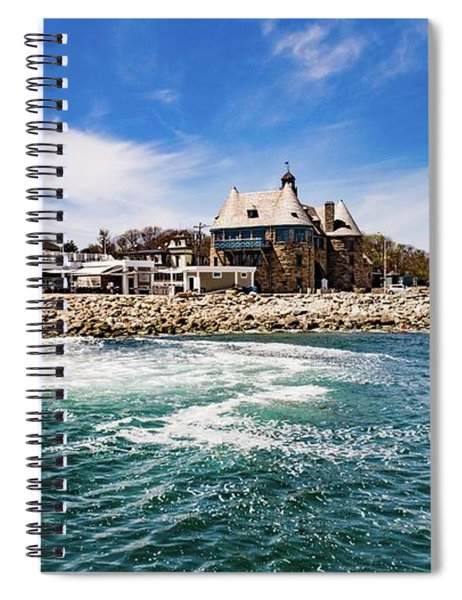 The Towers Of Narragansett  Spiral Notebook