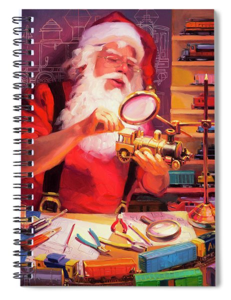 The Trainmaster Spiral Notebook
