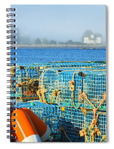The Traps Spiral Notebook