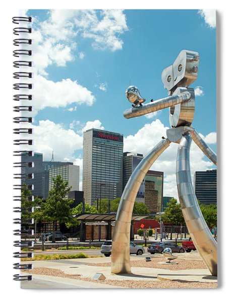 The Traveling Man Dallas 080618 Spiral Notebook