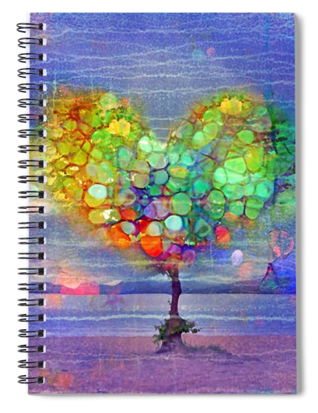 The Tree Of Hearts Spiral Notebook
