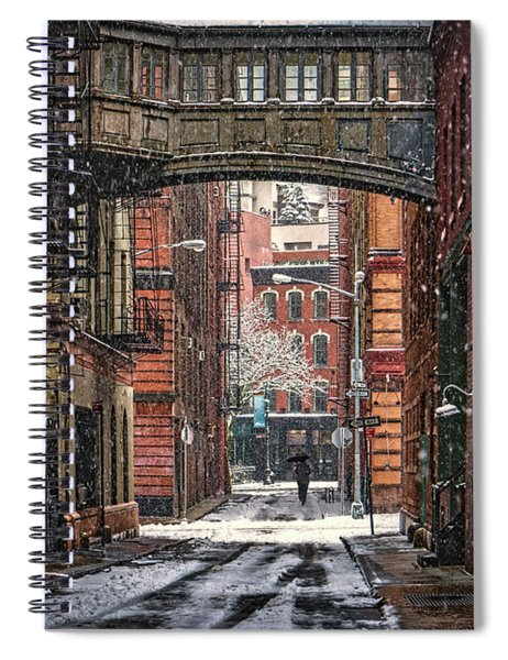 The Tribeca Skybridge Spiral Notebook