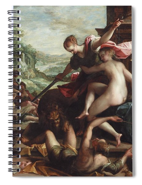 The Triumph Of Truth Spiral Notebook