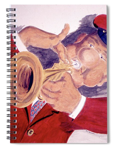 The Trumpeter Bolivoufs Spiral Notebook