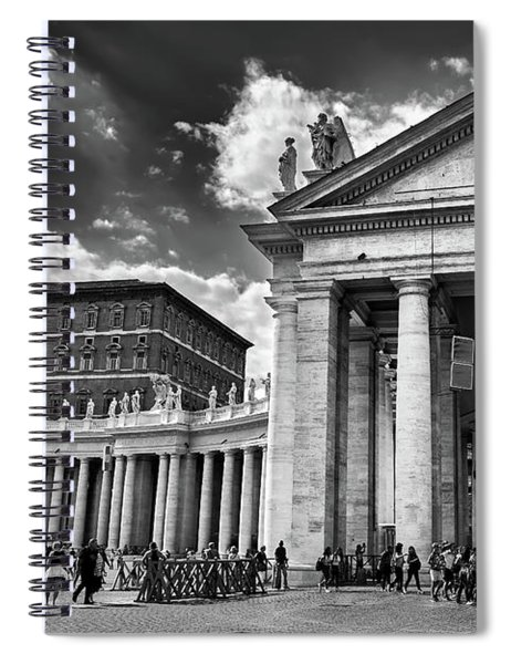 The Tuscan Colonnades In The Vatican Spiral Notebook