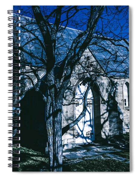 The Twilight Abbey Spiral Notebook