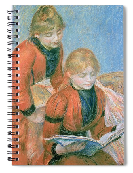 The Two Sisters Spiral Notebook