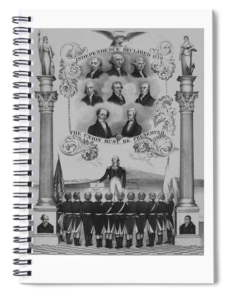 The Union Must Be Preserved Spiral Notebook