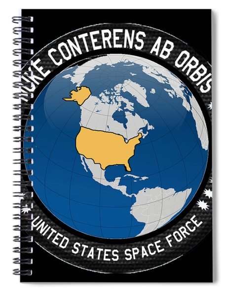 The United States Space Force Spiral Notebook