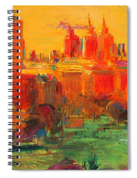 The Upper West Side Spiral Notebook