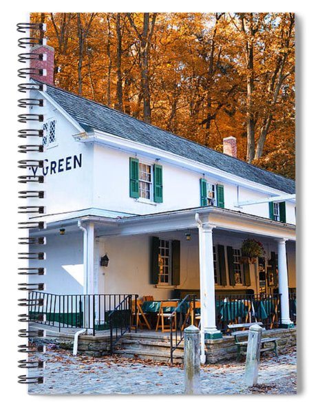 The Valley Green Inn In Autumn Spiral Notebook