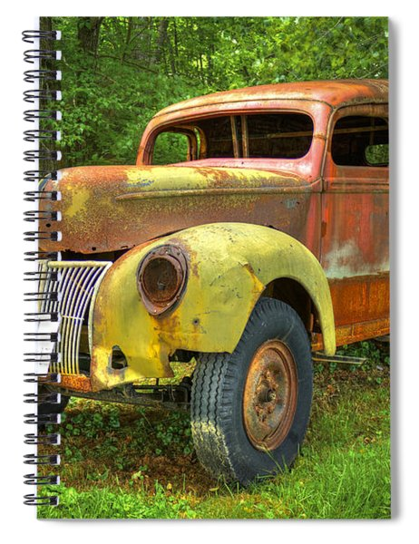 The Van Too Spiral Notebook