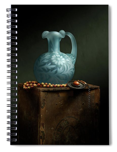 The Vase Spiral Notebook