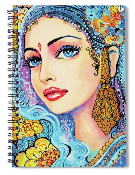 The Veil Of Aish Spiral Notebook
