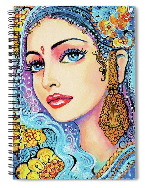 The Veil Of Aish Spiral Notebook