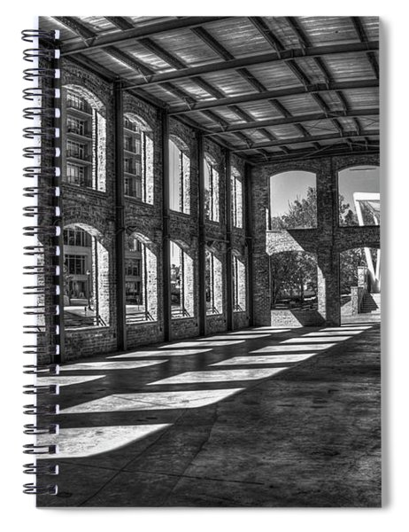 The Venue Bw Old Mill Wedding Venue Reedy River South Caroline Art Spiral Notebook