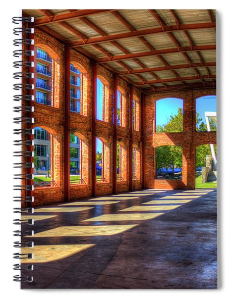 The Venue Old Mill Wedding Venue Reedy River South Caroline Art Spiral Notebook