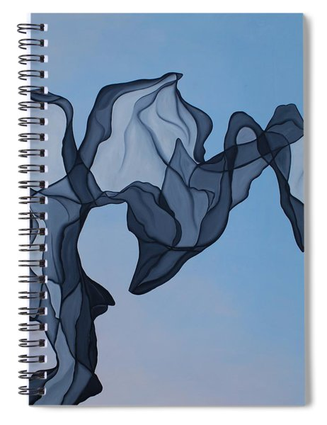 The Very Fabric Spiral Notebook