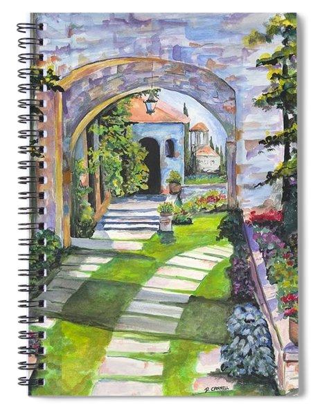 The Villa Spiral Notebook