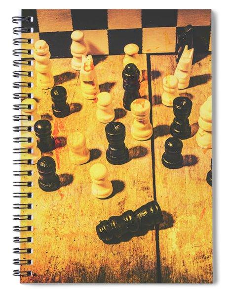 The Vintage End Game Spiral Notebook