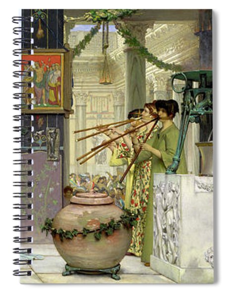 The Vintage Festival Spiral Notebook