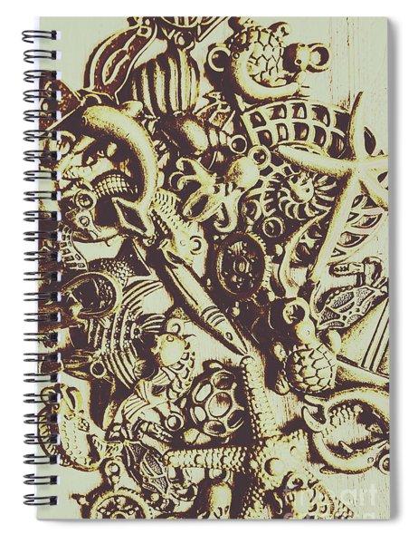 The Vintage Nautics Spiral Notebook