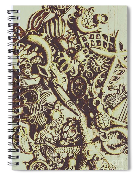 The Vintage Nautics Spiral Notebook